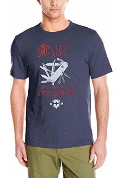 Camiseta Polo Victorinox De Manga Corta Con Diseño De Navaja