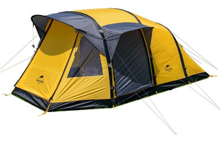 Carpa 6 Personas Naturehike Wormhole Soportes Inflables