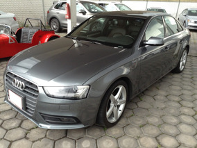 Audi A4 2.0 T Trendy Plus 225hp Mt 2015 Gris S: Fn015323
