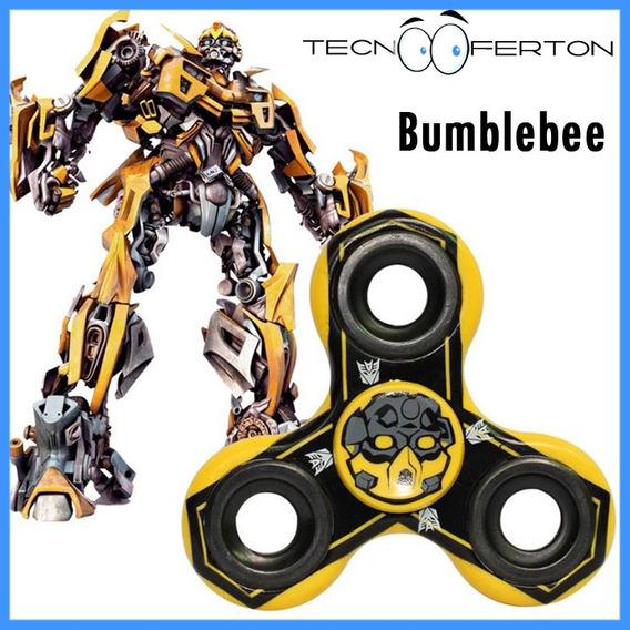 Fidget Spinner Transformers Bumblebee Optimus Prime Iron Man