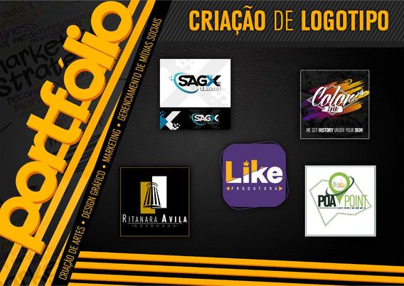 Criação Profissional Logo, Logotipo, Fyers E Artes Em Geral