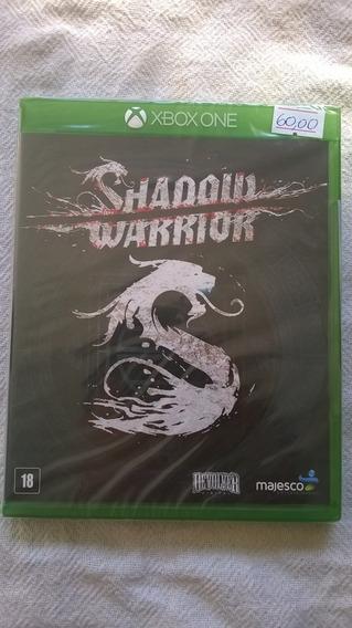 Jogo Samurai Novo Lacrado Shadow Warrior Para Xbox One