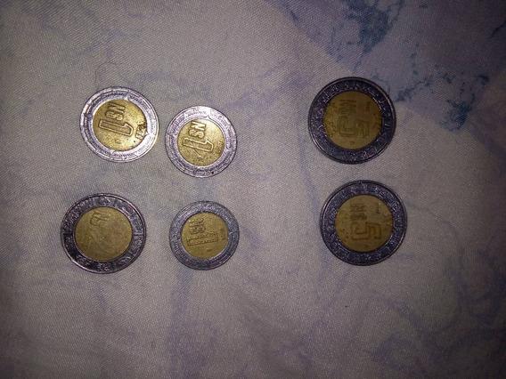 Moneda Nuevos Pesos De $1, $2 Y $5