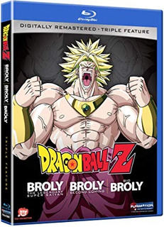 Dragon Ball Z: Broly Triple Feature [blu-ray] [importado]