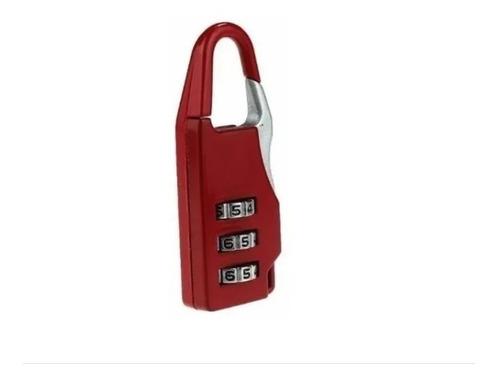 Candado Con Combinacion Para Valijas,bolsos, Lockers