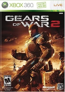 Gears Of War 2 Xbox 360 Y Xbox One Código De Descarga