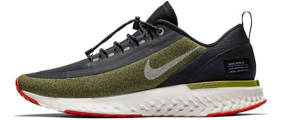 Zapatillas Nike Odyssey React Shield Hombre Running + Envio