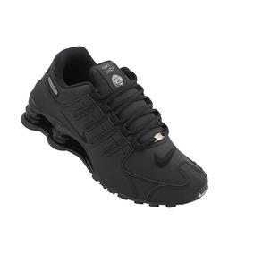 258895cd2cc Tênis Nike Shox Nz 4 Molas Black Masculino Original Feminino