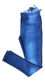 Calças Jeans Feminina Skinny Modelo Lindo~