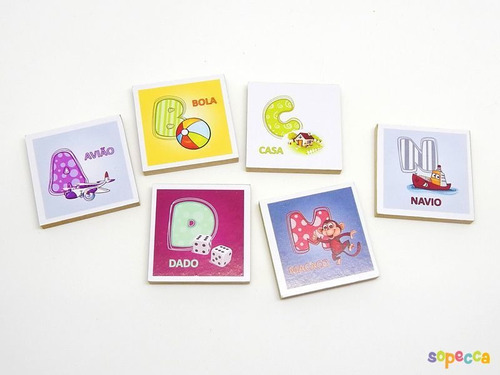 Imagem 1 de 4 de Promoção Brinquedo De Aprender O Alfabeto Com Peças Criativa