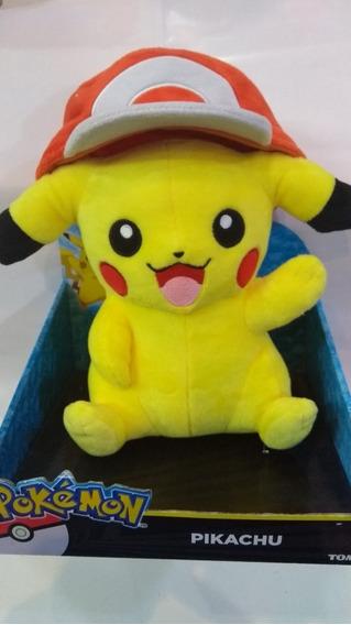 Pikachu Pelúcia Pokemon Marca Tommy