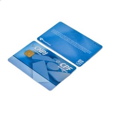 Cartão Smart Card Token Para Certificado Drive Safe Sign 10 Uni