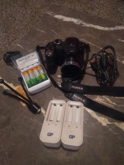 Camara Semi Profesional Fujifilm Con Todos Sus Accesorios