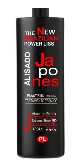 Alisado Definitivo Japonés Fuerte En Crema 1 Litro