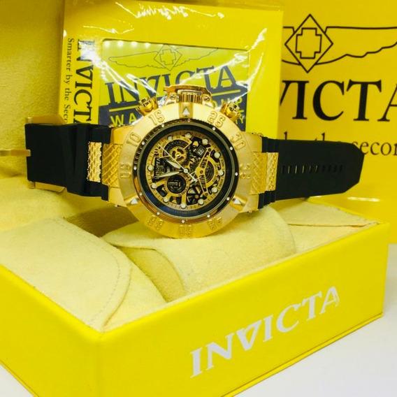 Relógio Invicta Original + Caixa De Brinde