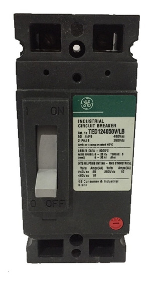 Breaker Ted 2x50 General Electric Ted124050wlb