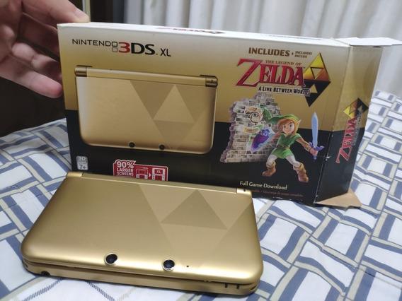 Nintendo 3ds Xl Versão Especial Zelda