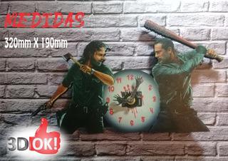 Reloj De Pared De The Walking Dead