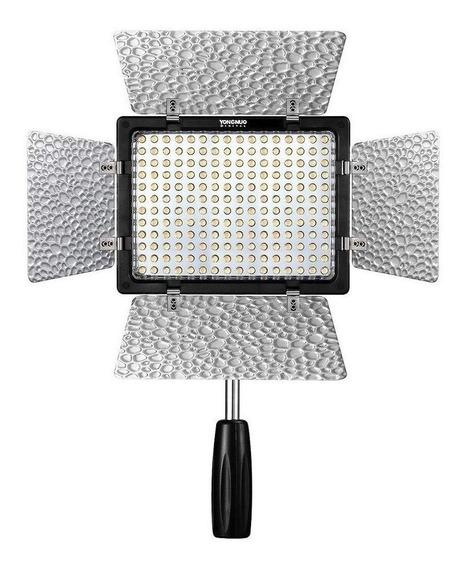 Luz contínua tipo painel Yongnuo YN160 III branca-fria