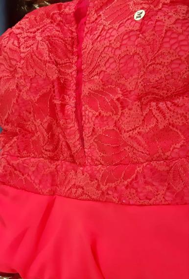 Vestido Madrinha Casamento Rosê Tifany Marsala Coral 44 46