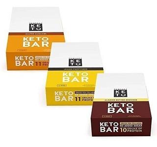 ¡nuevo! Perfecta Keto Bar, Snack-keto (12 Count), Sin Azúcar