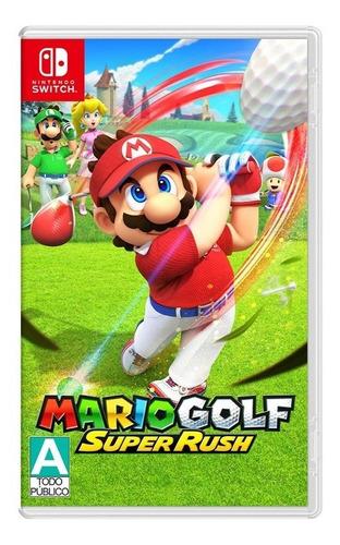 Imagen 1 de 5 de Mario Golf Super Rush Nintendo Switch Nuevo