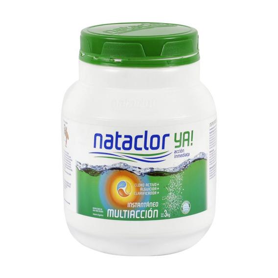 Cloro Instantáneo Multiacción De 3 Kilos Nataclor Rinde +