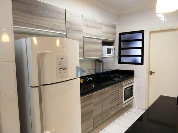 Apartamento Mobiliado, Com 2 Dormitórios No Boqueirão Em Praia Grande Por R$ 245.000,00 - Ap6834