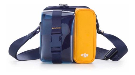 Case/bolsa/bag P/ Drone Dji Mavic Mini Original Blue/yellow