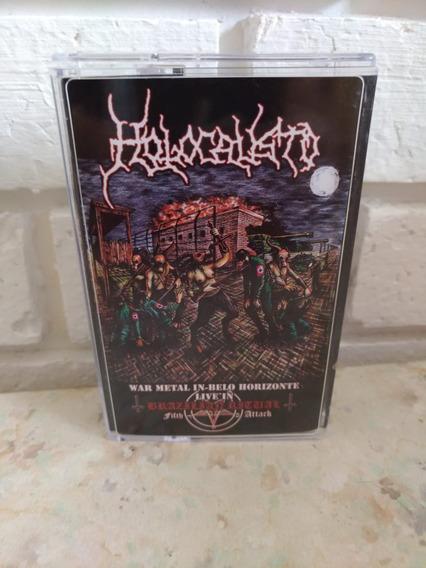 Holocausto Ao Vivo War Metal Fita K7 Cassete
