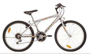 Bicicleta Halley M Bike Hombre 18 Vel Rodado 24 Selectogar