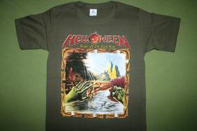 Gusanobass Playera Rock Metal Helloween Keeper 2 Talla S