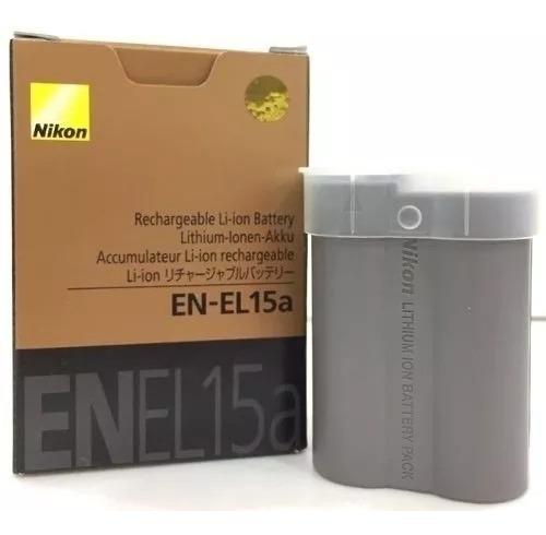 Bateria Nikon En El15a D 850 - Pta Entrega Original Nikon