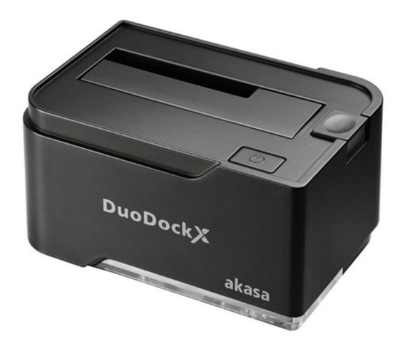 Dock Station Hd Ssd Akasa Duodock X Usb 3.0 Bivolt Win 10