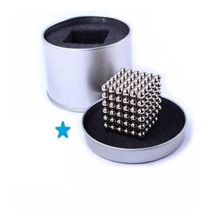 Neocube Puzzle Neodimio Cubo De Magneto Para Niño 5mm 216 Pz