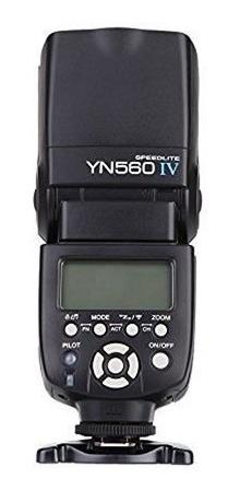 Flash Yongnuo Speedlite Yn 560 Iv P/ Canon Nikon