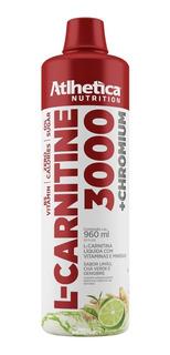 L-carnitine 3000 - 960ml Limão, Ché Verde, Gengibre Atlhetic