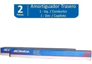 Amortiguadores Traseros Matiz L4 1.0l 2011-2015 (2pz)