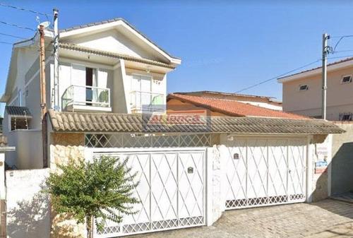 Sobrado Com 3 Dormitórios À Venda, 218 M² Por R$ 800.000,00 - Vila Aliança - Guarulhos/sp - Ai19506