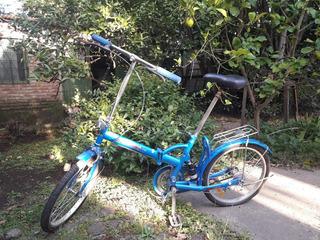 Bici Plegable Adulto Niño Poco Uso