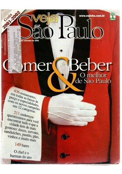 Revista Veja São Paulo ,comer & Beber O Melhor De São Paulo