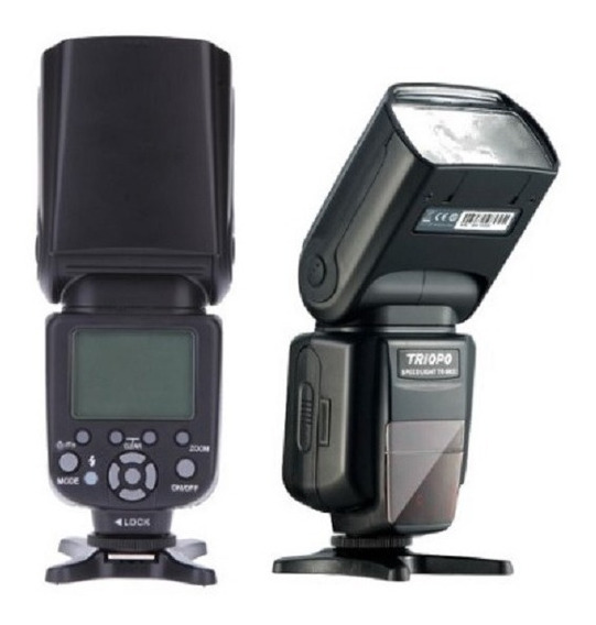 Flash Para Nikon Triopo 982ii D7200 D3300 D3100 D5200 D7100