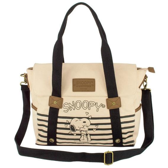 Bolsa Feminina Snoopy Friends Forever Sp1702 Original
