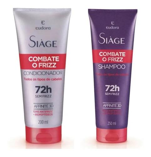 Shampoo + Condicionador Siàge Combate O Frizz - Eudora