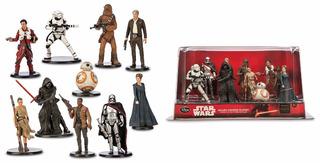 Set De Figuras Disney Store De Star Wars Ep-7