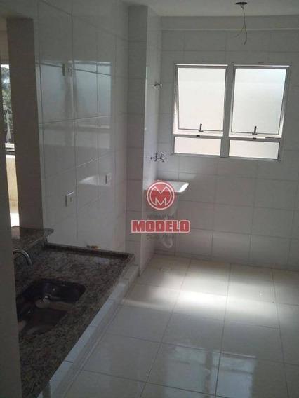 Apartamento Com 2 Dormitórios À Venda, 54 M² Por R$ 180.000 - Dois Córregos - Piracicaba/sp - Ap2629