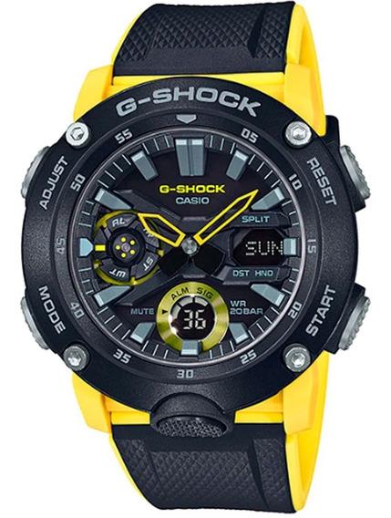 Relógio Casio G-shock Ga-2000-1a9dr *lançamento