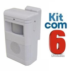 Sensor De Presença Sonoro C/ Excelente Qualidade 6 Unidades
