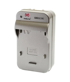 Carregador De Parede Para Bateria Samsung Slb10 Mox Mo-l10