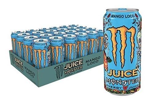 Monster Energy Mango Loco 473ml (24 Unidades)